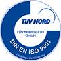 TÜV Cert DIN EN ISO 9001
