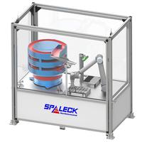 SPALECK FINISH Durchlaufanlage DL 1000 in Verbindung mit Robotertechnik